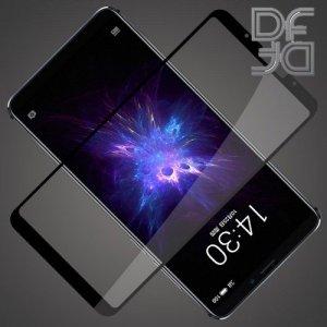 DF Защитное стекло для Meizu Note 8 черное