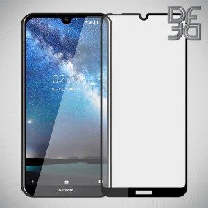 DF Защитное стекло для Nokia 2.2 черное