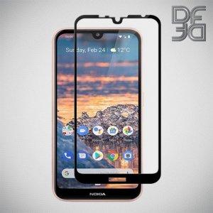DF Защитное стекло для Nokia 3.2 черное