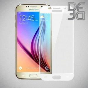 DF Защитное стекло для Samsung Galaxy A7 2017 белое