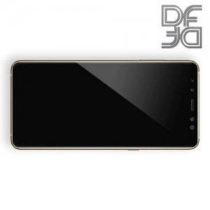 DF Защитное стекло для Samsung Galaxy A7 2018 SM-A750F черное