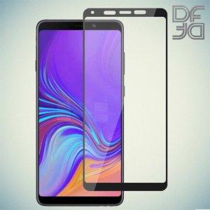 DF Защитное стекло для Samsung Galaxy A9 2018 SM-A920F черное
