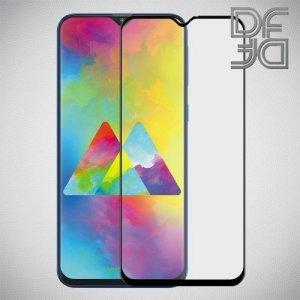 DF Защитное стекло для Samsung Galaxy M20 черное