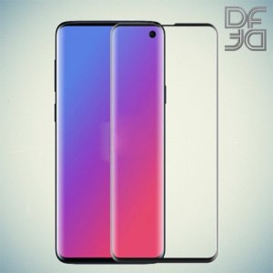 DF Защитное 3D стекло для Samsung Galaxy S10e черное