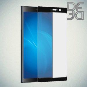 DF Защитное стекло для Sony Xperia XA2 Plus черное
