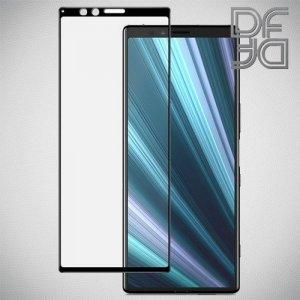 DF Защитное стекло для Sony Xperia 1 черное