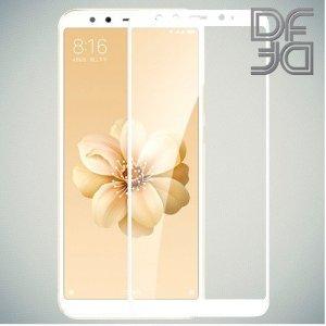 DF Защитное стекло для Xiaomi Mi A2 / Mi 6X белое