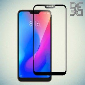 DF Защитное стекло для Xiaomi Mi 8 Lite черное