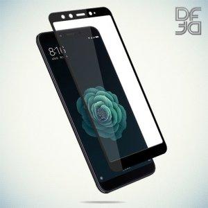 DF Защитное стекло для Xiaomi Mi A2 / Mi 6X черное