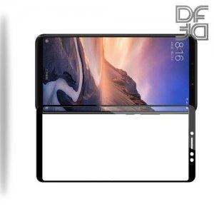 DF Защитное стекло для Xiaomi Mi Max 3 черное