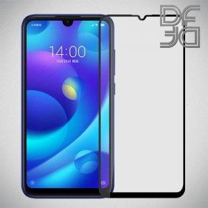 DF Защитное стекло для Xiaomi Mi Play черное