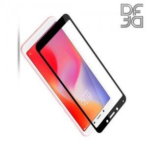 DF Защитное стекло для Xiaomi Redmi 6 / Redmi 6A черное