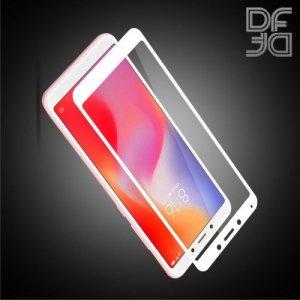 DF Full Glue Защитное стекло для Xiaomi Redmi 6 / Redmi 6A белое