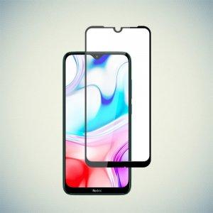 DF Защитное стекло для Xiaomi Redmi 8A черное