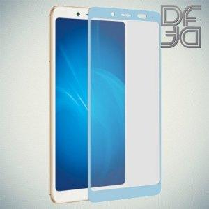 DF Защитное стекло для Xiaomi Redmi Note 5 синее