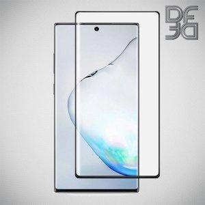 DF ЗD защитное стекло для Samsung Galaxy Note 10 черное