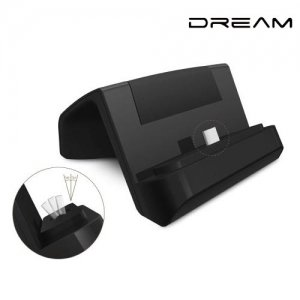 Док станция для телефона USB Type-C Dream Черная