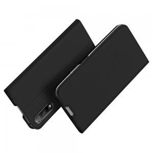 Dux Ducis чехол книжка для Huawei Honor 9X / 9X Premium с магнитом и отделением для карты - Черный