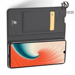 Dux Ducis чехол книжка для Huawei Mate 20 с магнитом и отделением для карты - Черный