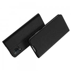 Dux Ducis чехол книжка для Huawei P40 Lite / P40 Lite с магнитом и отделением для карты - Черный