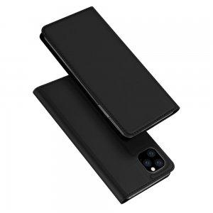 Dux Ducis чехол книжка для iPhone 11 Pro Max с магнитом и отделением для карты - Черный