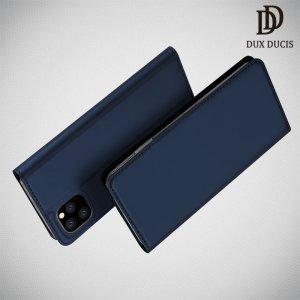 Dux Ducis чехол книжка для iPhone 11 Pro с магнитом и отделением для карты - Синий