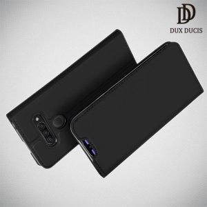 Dux Ducis чехол книжка для LG Q60 с магнитом и отделением для карты - Черный