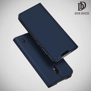 Dux Ducis чехол книжка для Nokia 2.2 с магнитом и отделением для карты - Синий