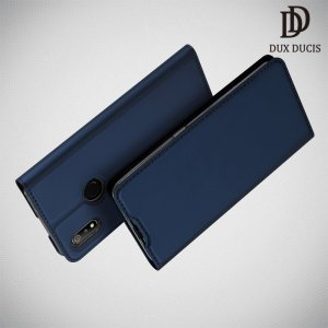 Dux Ducis чехол книжка для Oppo Realme 3 с магнитом и отделением для карты - Синий