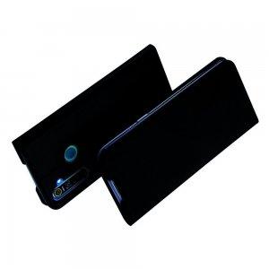 Dux Ducis чехол книжка для OPPO Realme 5 Pro с магнитом и отделением для карты - Черный