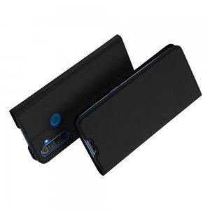 Dux Ducis чехол книжка для OPPO Realme 5 с магнитом и отделением для карты - Черный