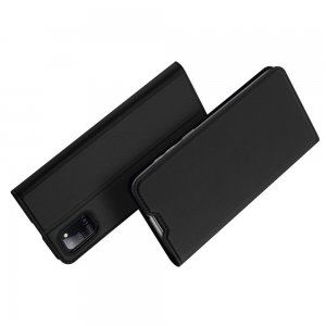 Dux Ducis чехол книжка для Samsung Galaxy A31 с магнитом и отделением для карты - Черный