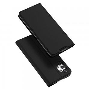 Dux Ducis чехол книжка для Samsung Galaxy A32 с магнитом и отделением для карты - Черный