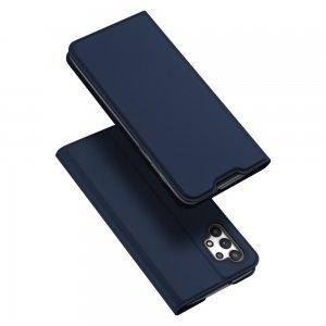 Dux Ducis чехол книжка для Samsung Galaxy A32 с магнитом и отделением для карты - Синий