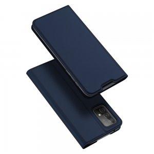 Dux Ducis чехол книжка для Samsung Galaxy A52 с магнитом и отделением для карты - Синий
