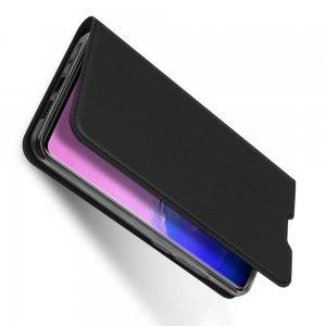 Dux Ducis чехол книжка для Samsung Galaxy S20 Ultra с магнитом и отделением для карты - Черный