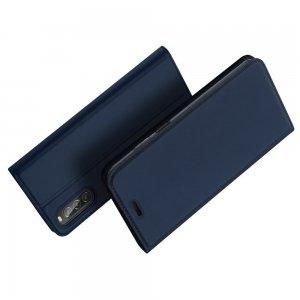 Dux Ducis чехол книжка для Sony Xperia 10 II с магнитом и отделением для карты - Синий