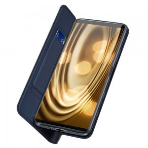 Dux Ducis чехол книжка для Sony Xperia 5 II с магнитом и отделением для карты - Синий
