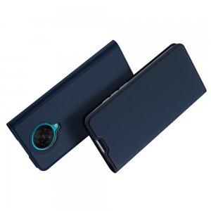 Dux Ducis чехол книжка для Xiaomi Poco F2 Pro с магнитом и отделением для карты - Синий