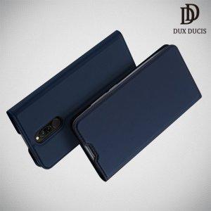 Dux Ducis чехол книжка для Xiaomi Redmi 8 с магнитом и отделением для карты - Синий