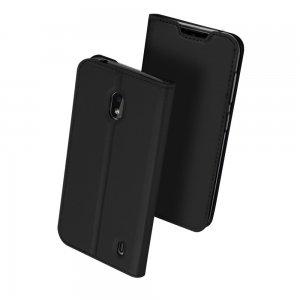 Dux Ducis чехол книжка для Xiaomi Redmi 8A с магнитом и отделением для карты - Черный