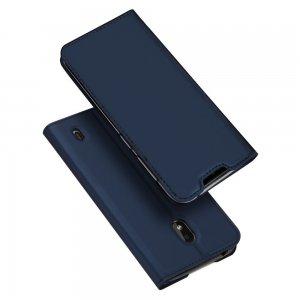 Dux Ducis чехол книжка для Xiaomi Redmi 8A с магнитом и отделением для карты - Синий