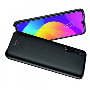DUX DUCIS Тонкий Чехол для Телефона Xiaomi Mi 9 lite с Покрытием из Искусственной Кожи Черный