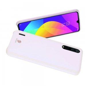 DUX DUCIS Тонкий Чехол для Телефона Xiaomi Mi 9 lite с Покрытием из Искусственной Кожи Розовый