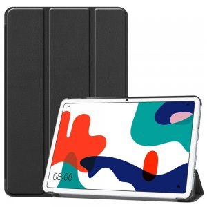 Двухсторонний чехол книжка для Huawei MatePad 10.4 с подставкой - Черный