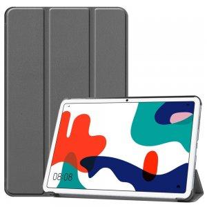 Двухсторонний чехол книжка для Huawei MatePad 10.4 с подставкой - Серый