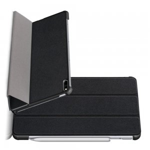 Двухсторонний чехол книжка для Huawei MatePad Pro с подставкой - Черный