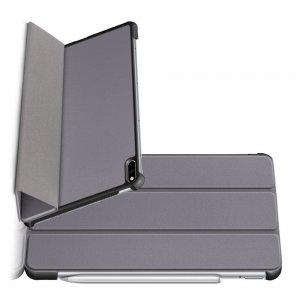 Двухсторонний чехол книжка для Huawei MatePad Pro с подставкой - Серый