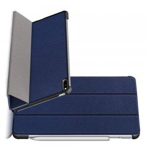 Двухсторонний чехол книжка для Huawei MatePad Pro с подставкой - Синий