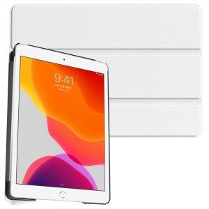 Двухсторонний чехол книжка для iPad 10.2 2019 с подставкой - Белый